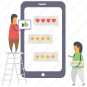 customer review, user feedback, user ranking, user ratings, user review icon