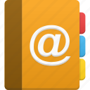 address book, addressbook, book, contact, contacts, notebook, phonebook, telephone icon