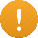 alarm, alert, attention, danger, error, exclamation, problem, warning icon