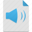 audio, media, multimedia, music, sound, volume icon