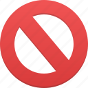 ban, cancel, no, remove, stop icon