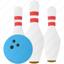 ball, bowling, game, play, sport icon
