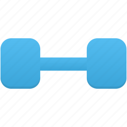 dumbbell, exercise, sport, sports icon