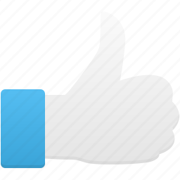 gesture, hand, thumb, up icon