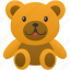 bear, game, teddy, toy icon