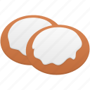 biscuits, cookie, cookies, food icon