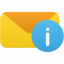 email, envelope, info, information, letter, message icon