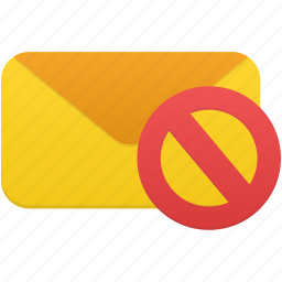 email, envelope, letter, mail, message, not, validated icon