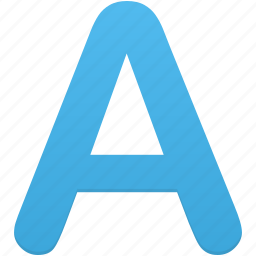 abc, aphabet, font, letter, text icon