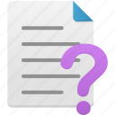 document, documents, file, files, help, page, paper icon