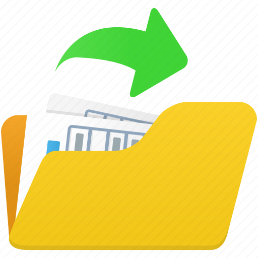 document, documents, export, file, files, folder, open icon