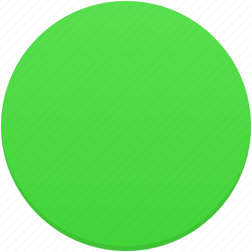circle, green, round, trafficlight icon