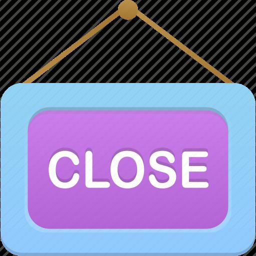 close, shop icon