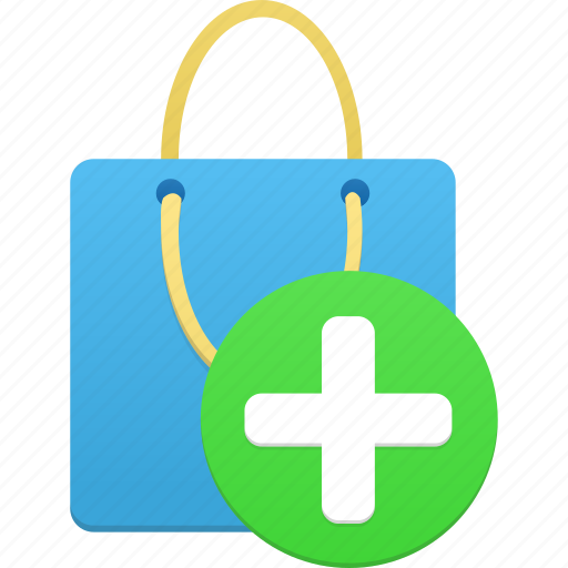 add, buy, ecommerce, item, plus, shop, shopping, webshop icon