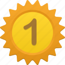 award, math, number, prize icon