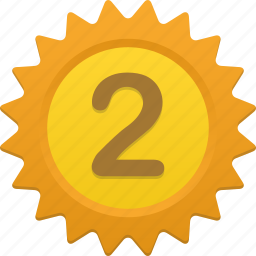 award, education, number, numbers, prize icon