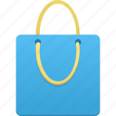 bag, basket, blue, buy, cart, ecommerce, shopping, webshop icon