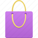 bag, buy, cart, ecommerce, purple, shop, shopping, webshop icon