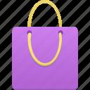 purple, bag, shopping, shop, webshop, buy, ecommerce, cart