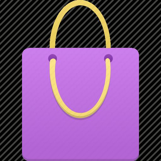 bag, buy, cart, ecommerce, purple, shop, shopping, webshop icon