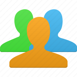 friend, friends, group, human, men, people, staff, users icon