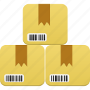 box, delivery, ecommerce, gift, inventory, maintenance, package, present, product, products, shipment icon
