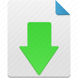 arrow, down, download, downloads, save icon