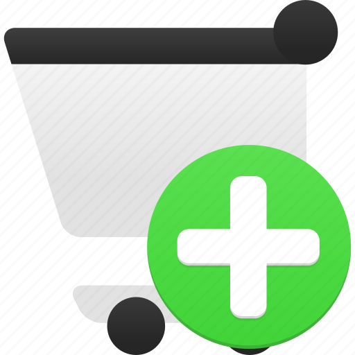 add, buy, cart, ecommerce, plus, shop, shopping, webshop icon