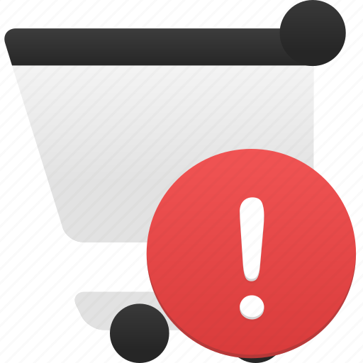 alert, cart, ecommerce, shop, shopping, webshop icon