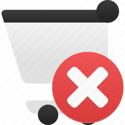 buy, cart, delete, ecommerce, remove, shop, shopping, webshop icon