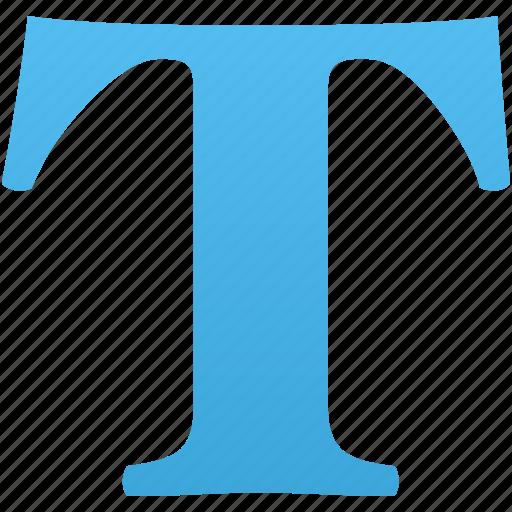 horizontal, tool, type icon