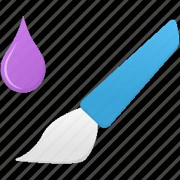 brush, design, mixer, tool, tools icon