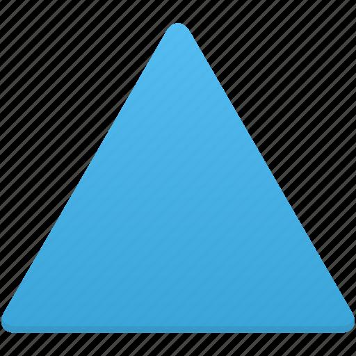 design, shape, triangle icon