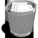 full, recycle bin, trash icon