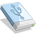 disk, hd, usb icon