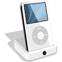 apple, dock, ipod icon