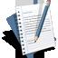 document, edit, resume, text, write icon