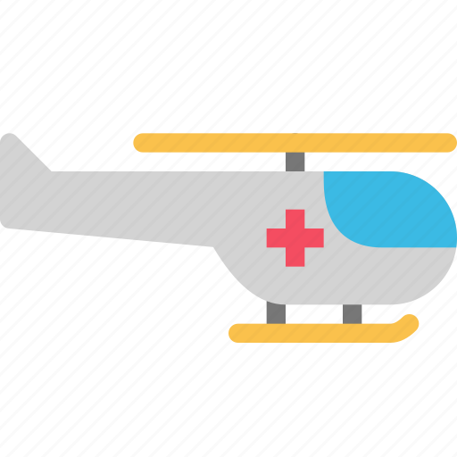 emergency, health, helicopter, hospital, rescue icon