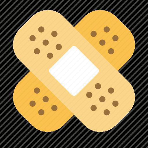 Aid, bandage, health, injure, medical icon - Download on Iconfinder