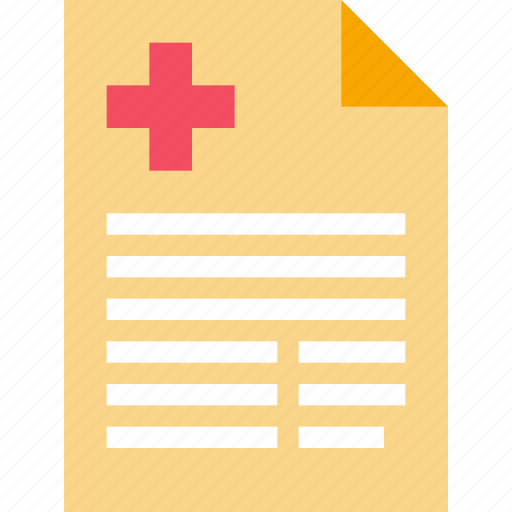 document, health, healthcare, medical, report icon