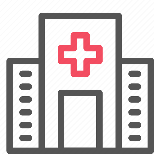 building, clinic, doctor, health, hospital icon