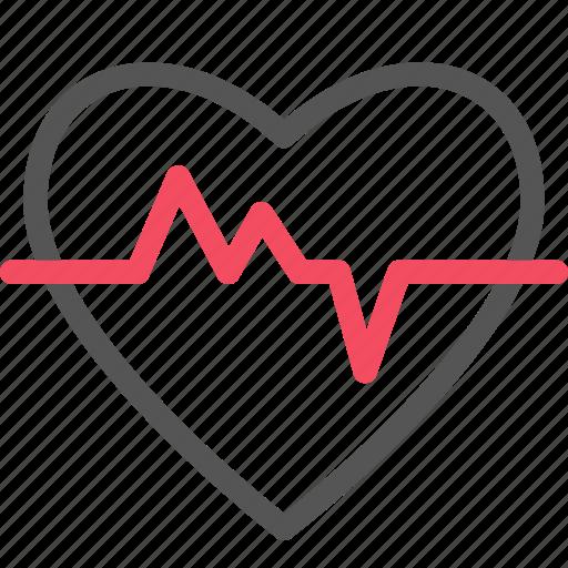 cardiogram, health, healthcare, heart, medical icon