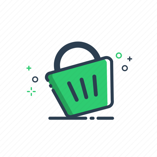 bag, buy, cart, colorful, commerce, ecommerce, flatolin, illustration, line, line icon, price, sale, shop, shopping, store icon