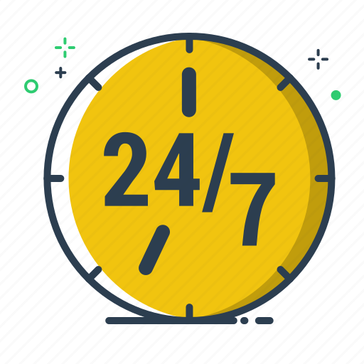 bank, banking, business, clock, colorful, every day, finance, flatolin, hour, office, time, timer, watch icon