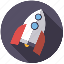 playing, rocket, science, spaceship, toys icon