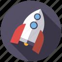 playing, rocket, science, spaceship, toys icon