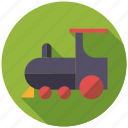locomotive, playing, railway, steam train, toys, transportation icon