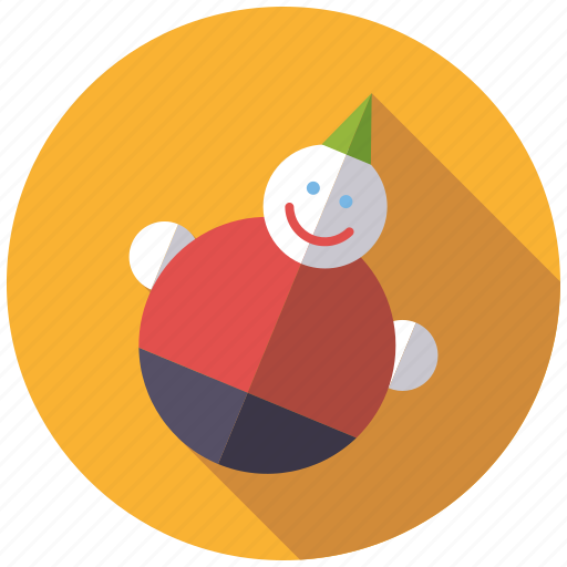 playing, roly-poly, toys icon
