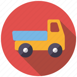 car, lorry, pickup, playing, toys, truck, vehicle icon