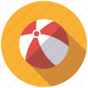 ball, beach ball, playing, sports, toys icon